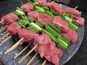 Pork Tenderloin Sugar Snap Pea Kabobs1