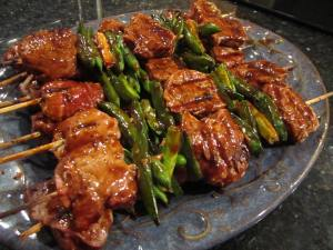 Pork Tenderloin Sugar Snap Pea Kabobs2